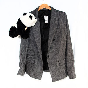 New Express herringbone blazer jacket